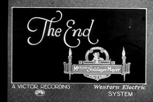 The End Western Electric Cinema Credit