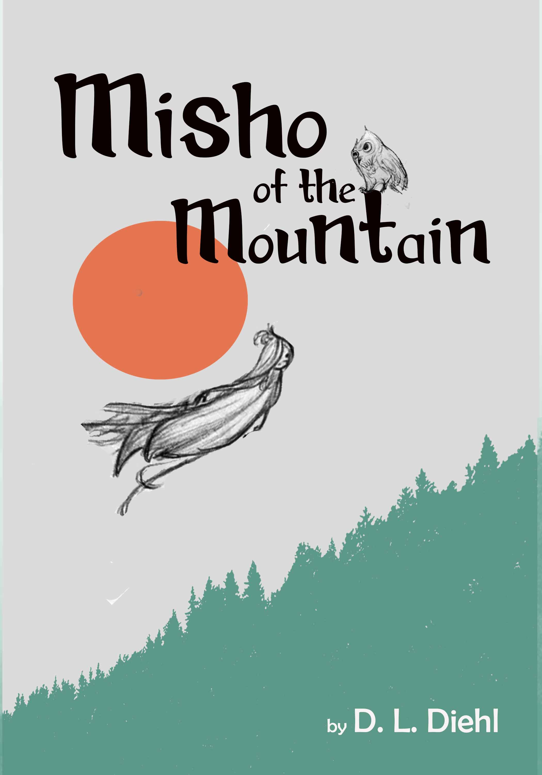 Misho of the Mountain Cover Mockup
